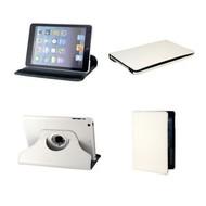 Apple iPad Air 2 - Hoes 360° Draaibare Case Lederlook Wit