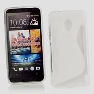 HTC Desire 700 - Tpu Siliconen Case Hoesje Transparant