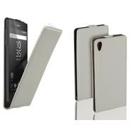 Sony Xperia Z5 - Flip Case Cover Hoesje Leder Wit