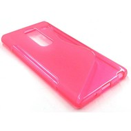 Lg Class - Tpu Siliconen Case Hoesje S-Style Roze