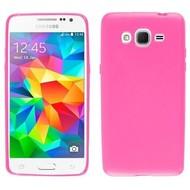 Samsung Galaxy Grand Prime VE - Tpu Siliconen Case Hoesje Roze