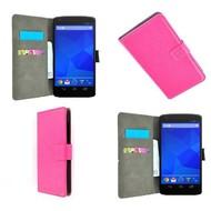 LG Nexus 5 - Wallet Bookstyle Case Lederlook Roze