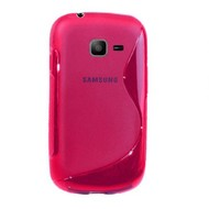 Samsung Galaxy Trend Lite ( Fresh) - Tpu Siliconen Case Hoesje S-Style Roze