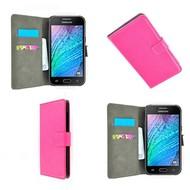 Samsung Galaxy Trend Plus - Wallet Bookstyle Case Lederlook Roze
