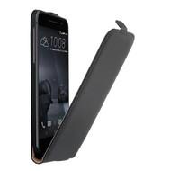 HTC One A9 - Flip Case Cover Hoesje Leder Zwart