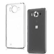 Microsoft Lumia 950 - Tpu Siliconen Case Hoesje Transparant