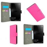 Huawei Mate 8 - Wallet Bookstyle Case Lederlook Roze