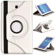 Samsung Galaxy Tab S2 (8.0) - Hoes 360° Draaibare Case Lederlook Wit