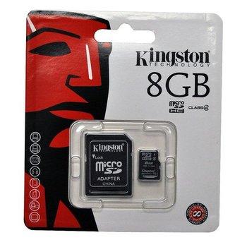 Kingston Micro SDHC 8GB Geheugenkaart