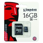 Kingston Micro SDHC 16GB Geheugenkaart