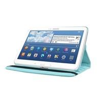 Samsung Galaxy Tab E (9.6) - Hoes 360° Draaibare Case Lederlook Turquoise