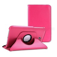 Samsung Galaxy Tab S (8.4) - Hoes 360° Draaibare Case Lederlook Roze