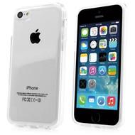 Apple iPhone 5C - Tpu Siliconen Case Hoesje Transparant