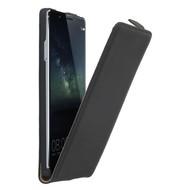 Huawei Mate S - Flipcase Cover Hoesje Lederlook Zwart