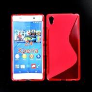 Sony Xperia Z4 - Tpu Siliconen Case Hoesje S-Style Roze