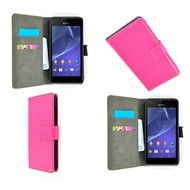 Sony Xperia Z4 - Wallet Bookstyle Case Roze