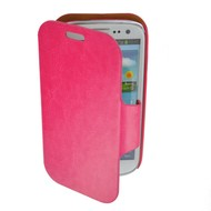 Samsung Galaxy S3 Mini - Wallet book Case/Cover Beril-donkerroze