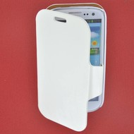 Samsung Galaxy S3 Mini - Wallet book Case/Cover Beril-Wit