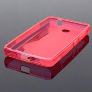 Microsoft Lumia 430 - Tpu Siliconen Case Hoesje S-Style Roze
