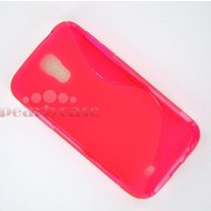 Samsung Galaxy S4 - Tpu Siliconen Case Hoesje S-Style Roze