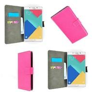 Samsung Galaxy A3 (2016) - Wallet Bookstyle Case Lederlook Roze