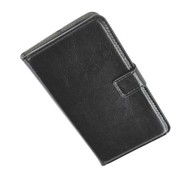 HTC One Mini - Wallet Bookstyle Case Lederlook Zwart