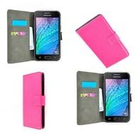 Samsung Galaxy J5 2016 Hoesje Wallet Bookstyle Case Roze