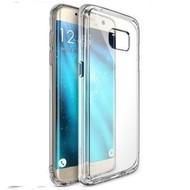 Samsung Galaxy S7 Edge - Siliconen Case Hoesje Transparant