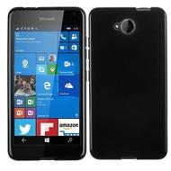 Microsoft Lumia 650 Hoesje Tpu Siliconen Case Zwart