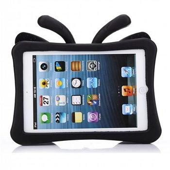 Apple iPad 3 Beschermhoes voor kinderen vlinder (zwart)