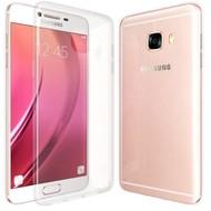 Samsung Galaxy C5 - Tpu Siliconen Smartphone Case Hoesje Transparant