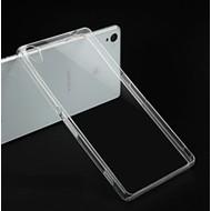Sony Xperia X - Tpu Siliconen Smartphone Case Hoesje Transparant