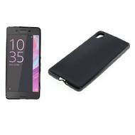 Sony Xperia X - Tpu Siliconen Smartphone Case Hoesje Zwart