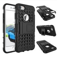 Shockproof Case Cover Zwart Hoesje iPhone 7