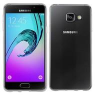 Samsung Galaxy A3 2016 - Smartphone hoesje Tpu Siliconen Case Transparant