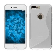 Apple iPhone 7 Plus - Smartphone Hoesje Tpu Siliconen Case S-Style Transparant