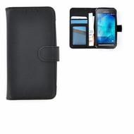 Samsung Galaxy Xcover 3 Wallet Bookcase Hoesje Zwart