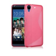 Roze S-Style TPU Siliconen Case Hoesje HTC Desire 628