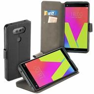 LG V20 - Smartphone Hoesje Wallet Bookstyle Case Y Zwart