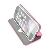 Slim booktype roze hoesje voor de iPhone 7