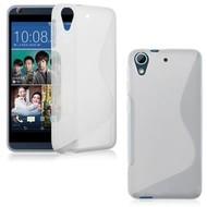 Wit S-Style Tpu Siliconen hoesje voor de HTC Desire 630
