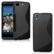 HTC Desire 530 Hoesje Tpu Siliconen Case S-Style Zwart