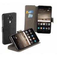 Zwarte Y Wallet Book Case Hoesje voor de Huawei Mate 9
