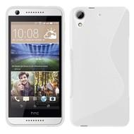 HTC Desire 650 Hoesje Tpu Siliconen Smartphone Case S-Style Wit