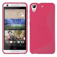 HTC Desire 650 Hoesje Tpu Siliconen Smartphone Case S-Style Roze