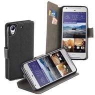 HTC Desire 650 Hoesje Wallet Book Smartphone Case Y Zwart