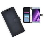 Samsung Galaxy A5 (2017) Portemonnee Hoesje Wallet Book Case Zwart