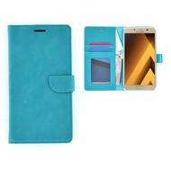 Samsung Galaxy A5 (2017) Portemonnee Hoesje Wallet Book Case Turquoise
