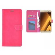 Samsung Galaxy A5 (2017) Portemonnee Hoesje Wallet Book Case Roze