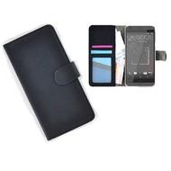 HTC Desire 530 Portemonnee Hoesje Wallet Book Case Zwart